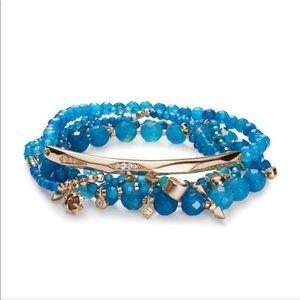 Kendra Scott Supak Beaded Bracelet Turquoise B259
